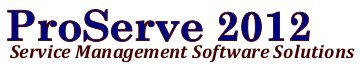 ProServe 2012 - Service Management Software Solutions