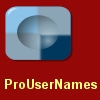 ProUserNames - Username and Password Management Software